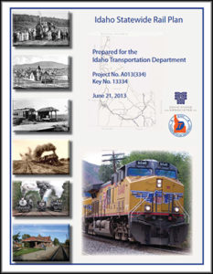 Idaho Statewide Rail Plan 2013